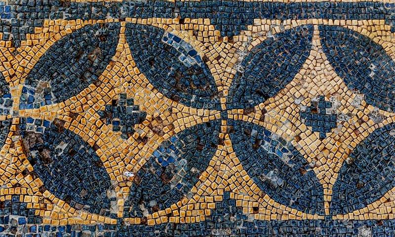 римские мозаики в городе Рисан