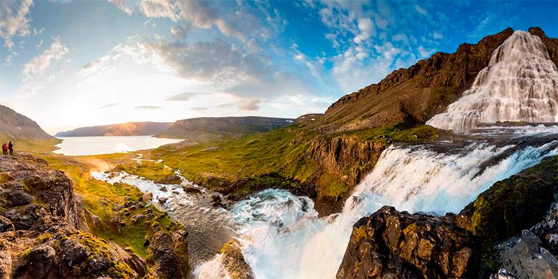 Водопад Дынджанди
