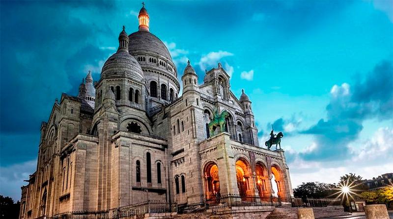 Базилика Святого Сердца Парижа
