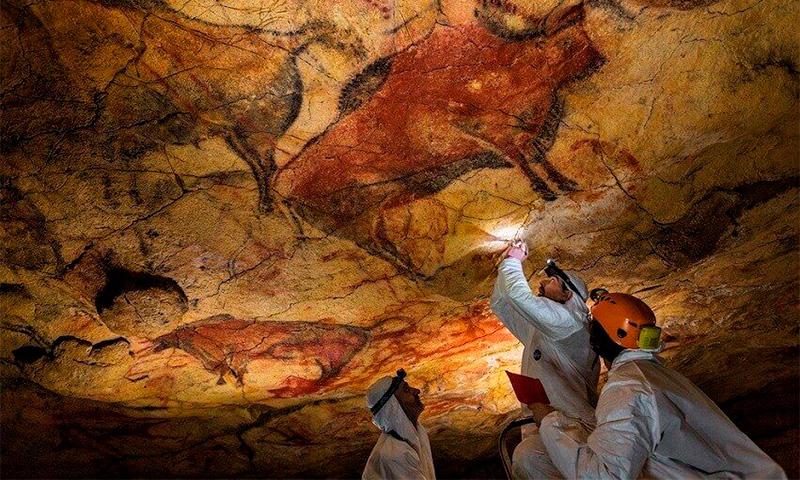 доисторическая пещера Фон-де-Гом