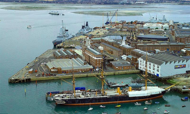 корабельный док Портсмута