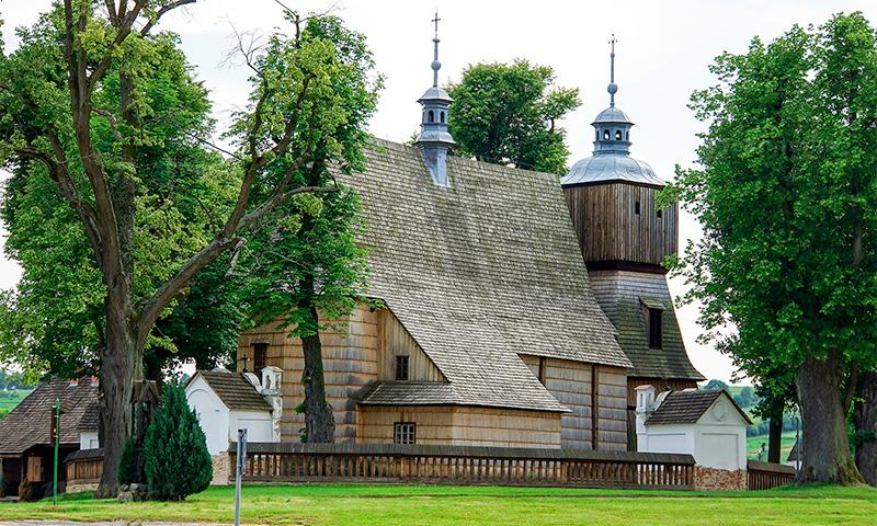 деревянные костёлы юга Малой Польши