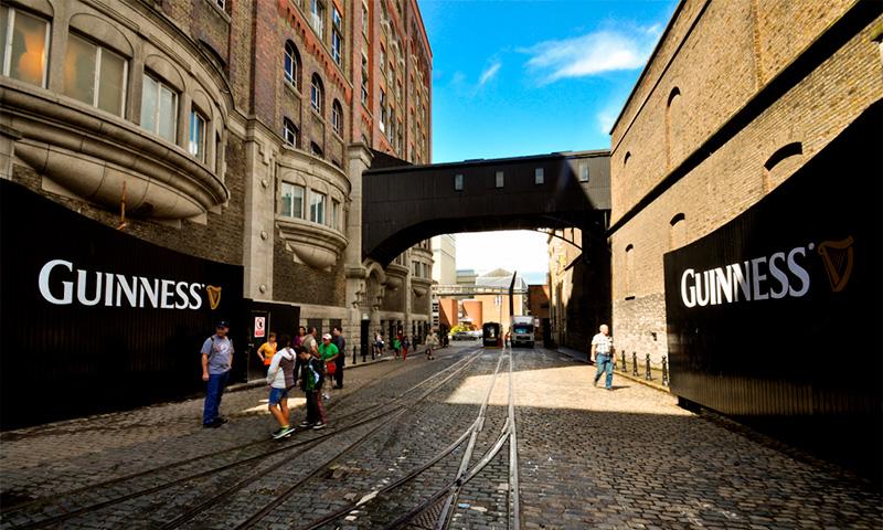музей пива Гинесс в Дублине
