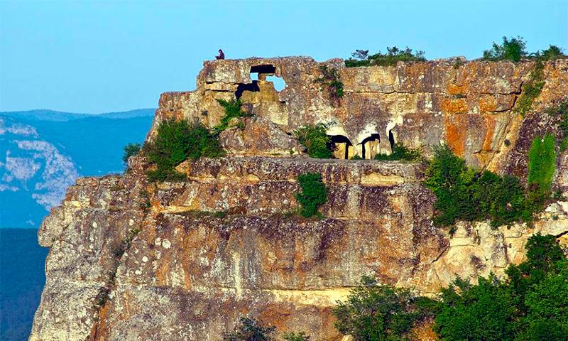 пещерная крепости Чуфут-Кале