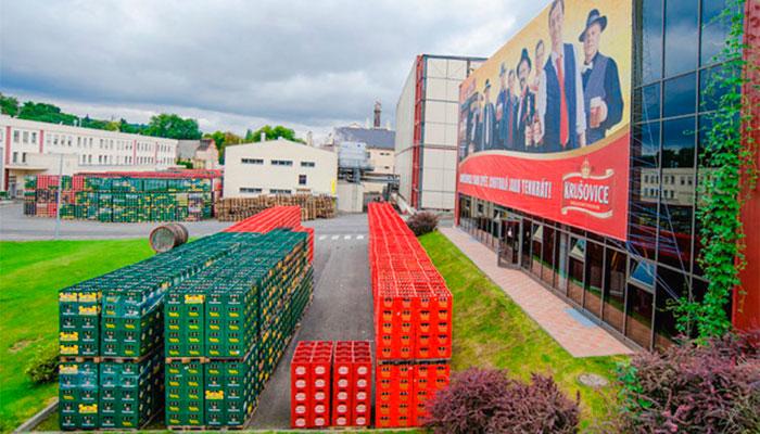 пивной завод в селе Крушовице