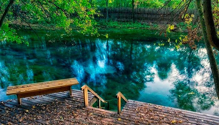 Голубые озёра