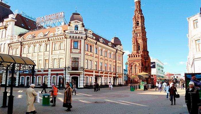 Самая старая улица Казани