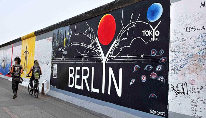Берлинская стена и Истсайдская галерея