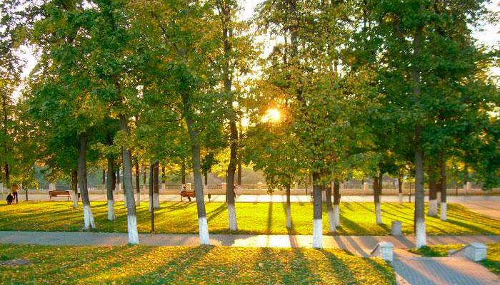 Парк Липки и бульвар имени Пушкина