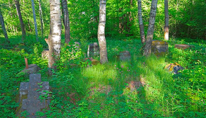 Сорвальское кладбище в Выборге