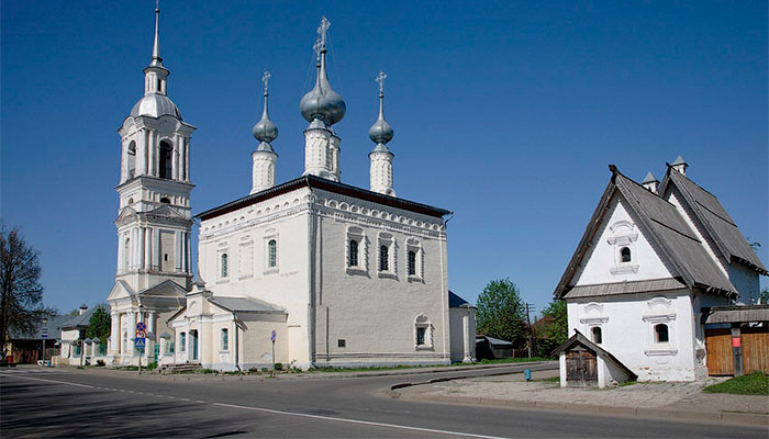 Смоленская и Симеоновская церкви