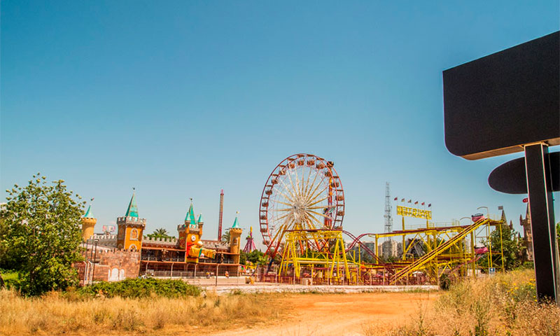 Парк развлечений Aktur Lunapark в Манавгате
