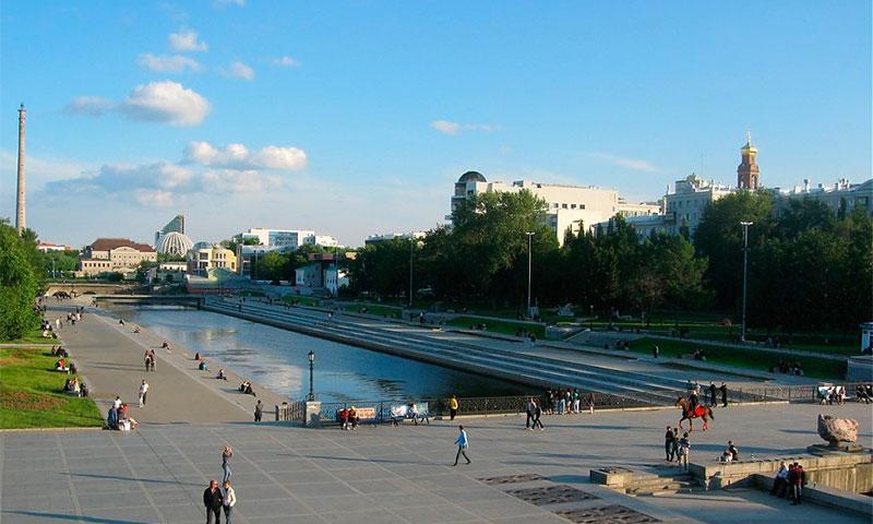 Плотинка и исторический сквер