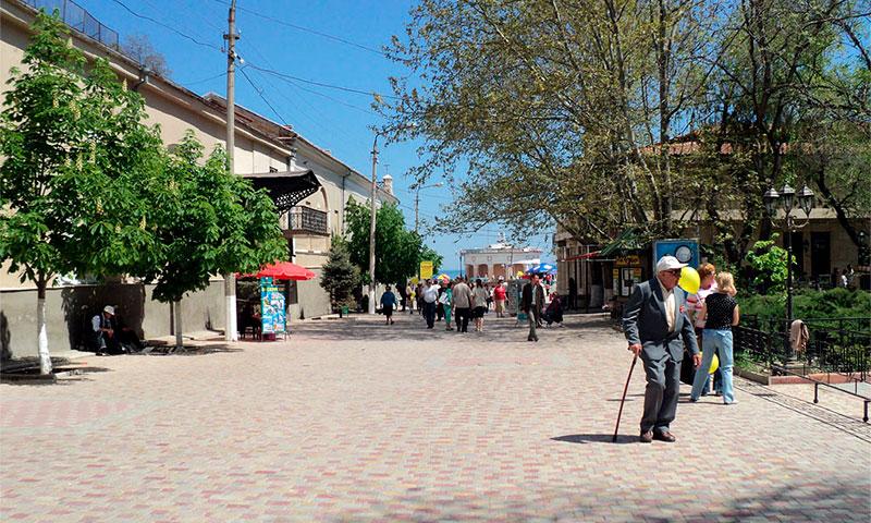 Улица Галерейная