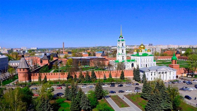 Успенский и Богоявленский соборы Тульского кремля