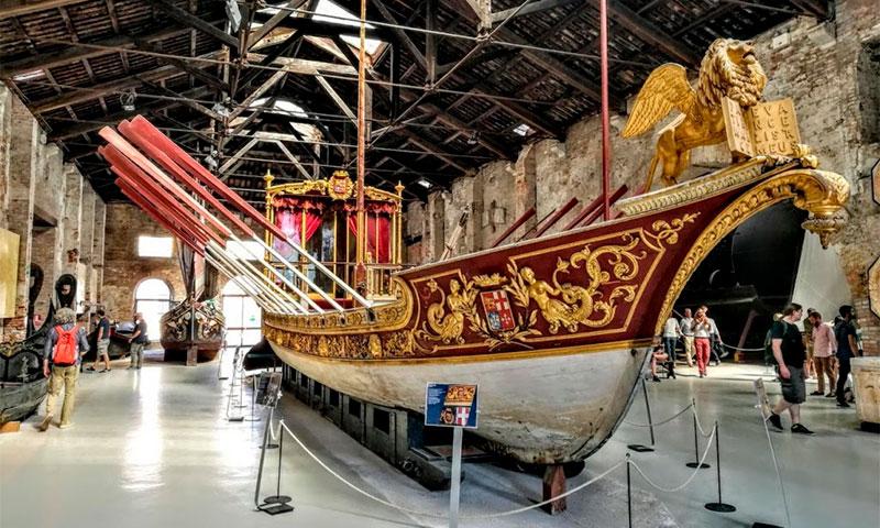 Музей истории военно-морского флота в Венеции