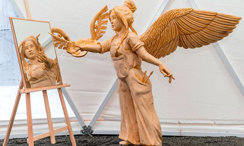 «Обитель ангелов» - музей деревянной скульптуры