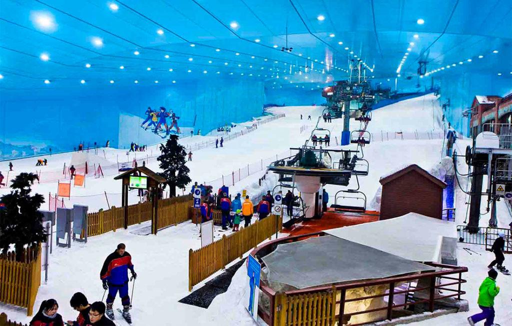 Горнолыжный комплекс «Ski Dubai»