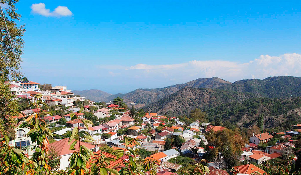 Деревня Педулас
