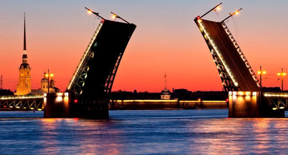 лучшие мосты санкт-петербурга