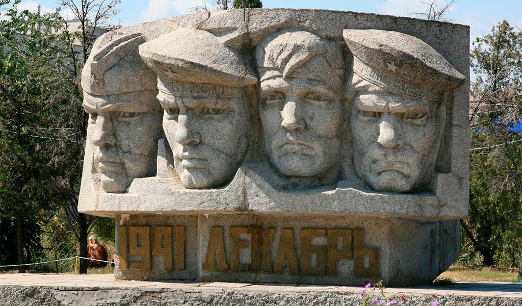 Памятник воинам Коктебельского десанта