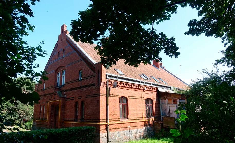 Бывший дом пастора
