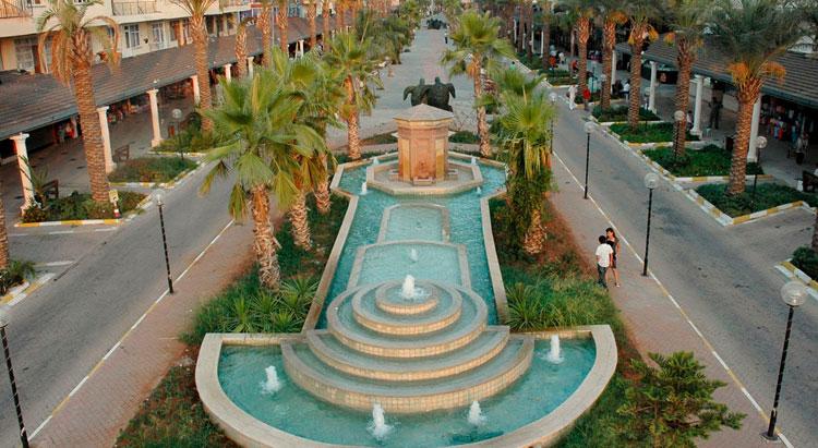 Центральный фонтан Кадрие