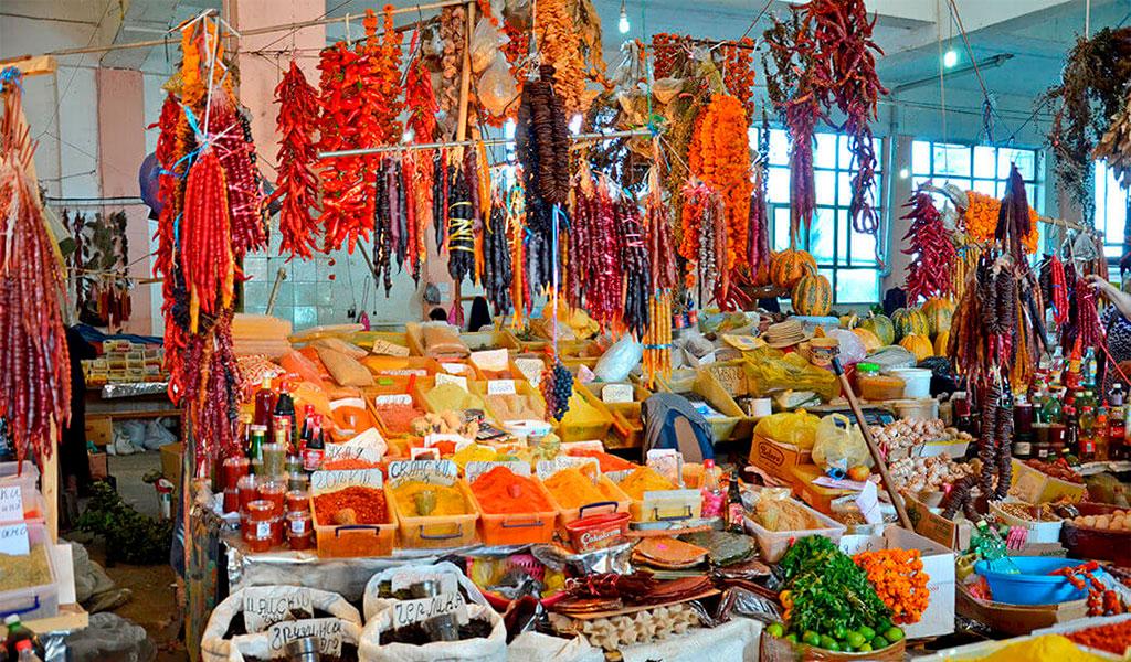 Центральный рынок Парехи