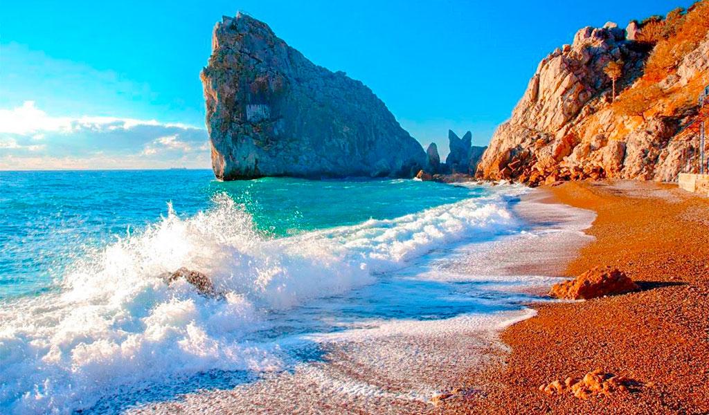 Дикий пляж «У Дивы»