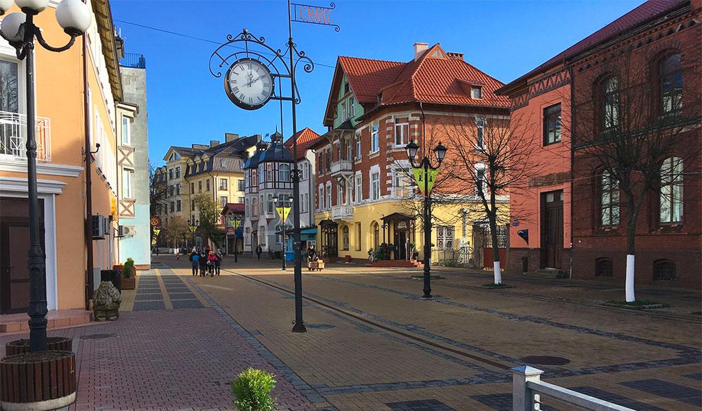 Городские часы Зеленоградска