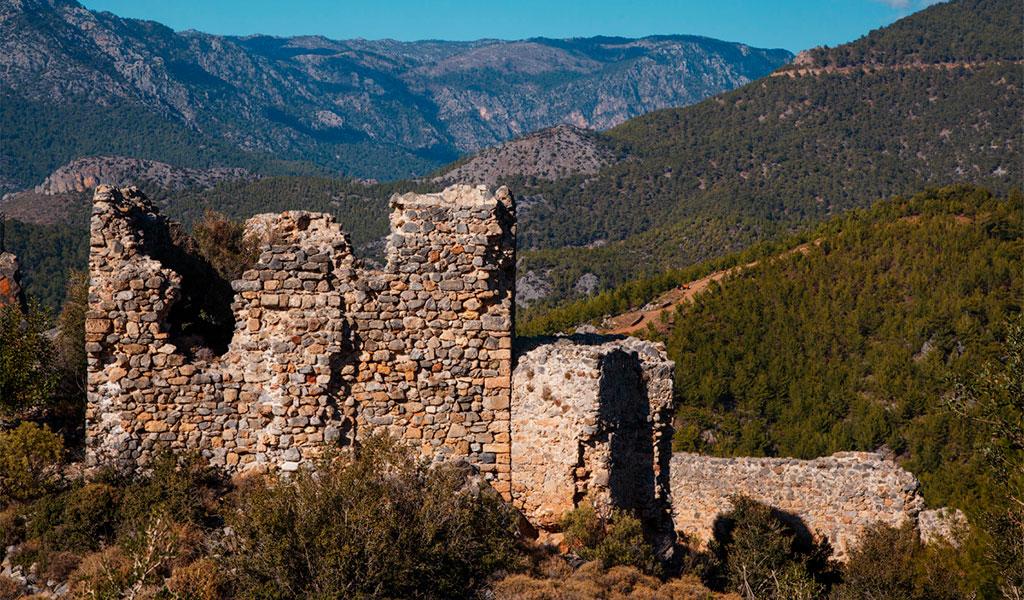 Крепости на Крестовой горе