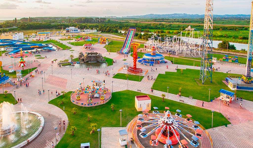 Парк развлечений «Цицинатела»
