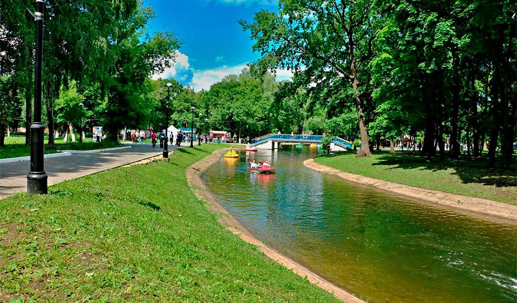 Парк Юрия Гагарина (детский парк культуры и отдыха)
