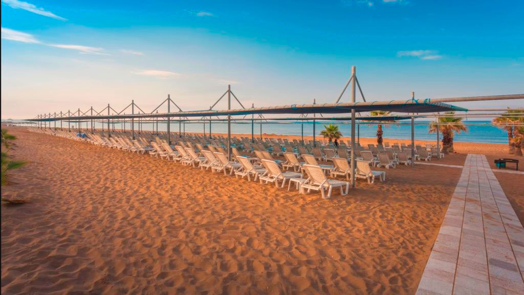 Пляж Tayyarbey Hotel