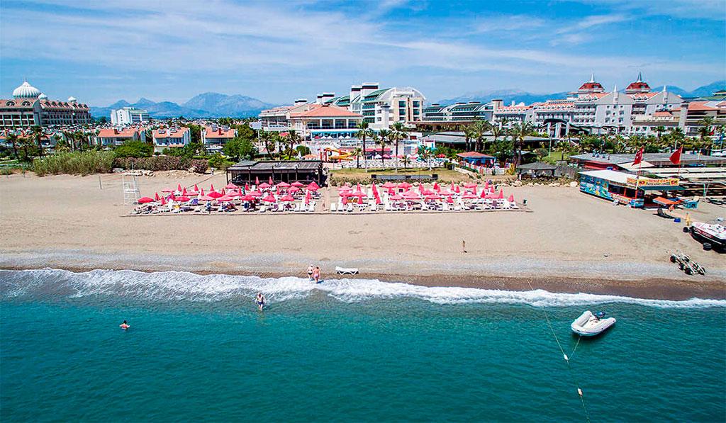 Пляж Богазкент