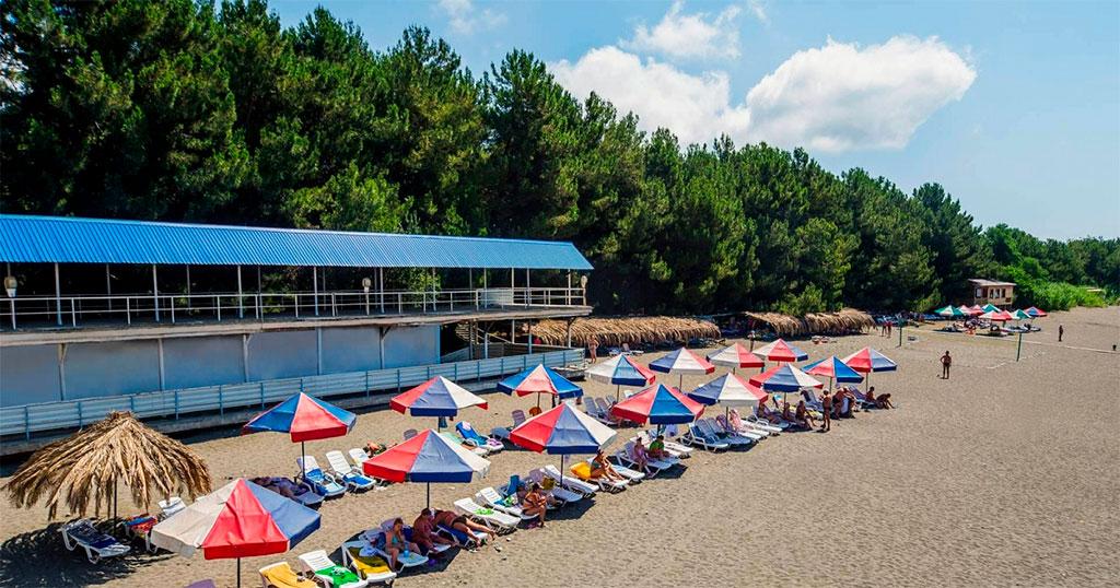 Пляж пансионата «Литфонд»