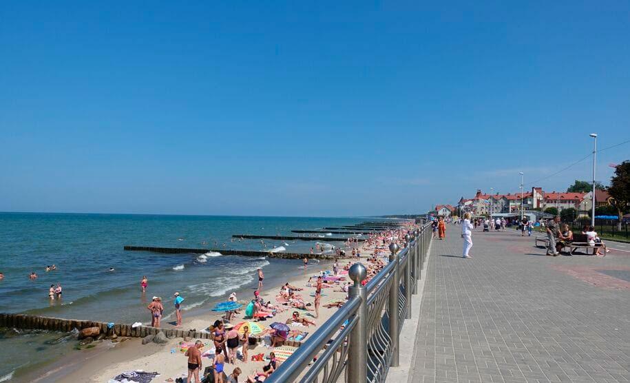 Пляж и променад