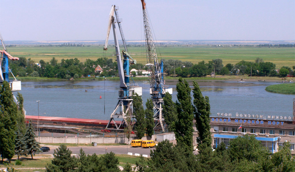 Порт Азова и Речной вокзал