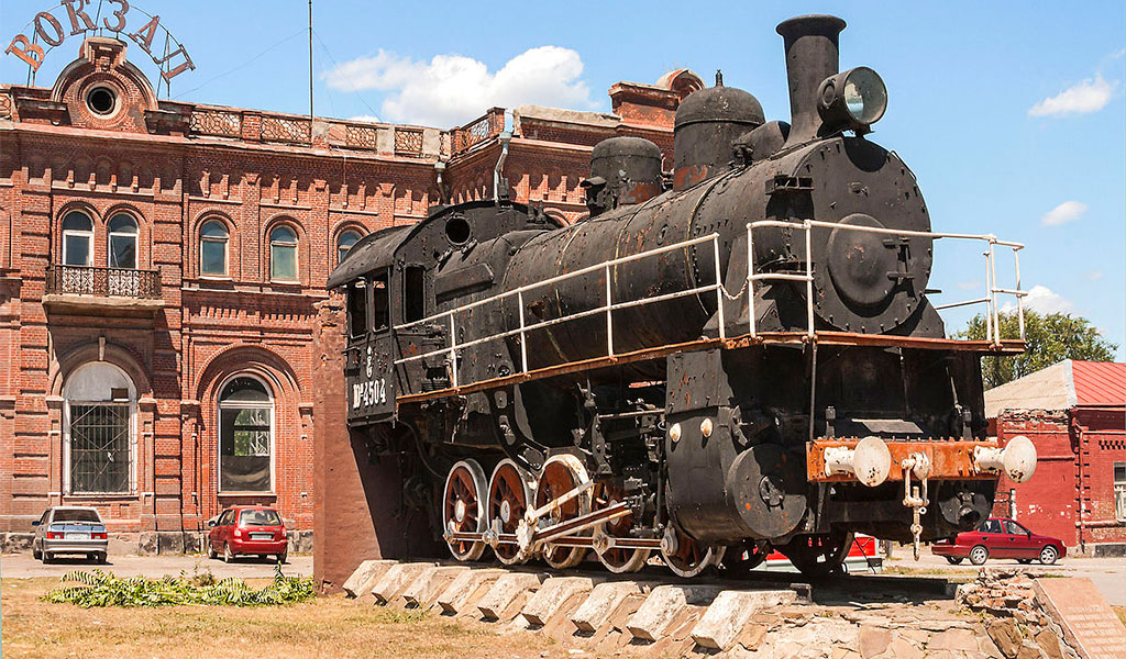 Старый вокзал Таганрога