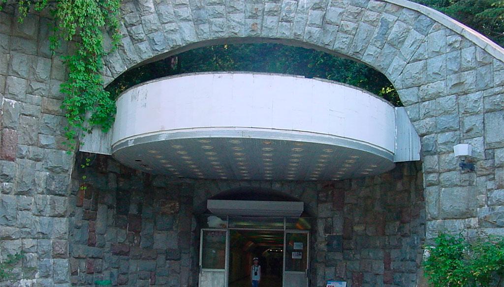Тоннель в санатории Крым
