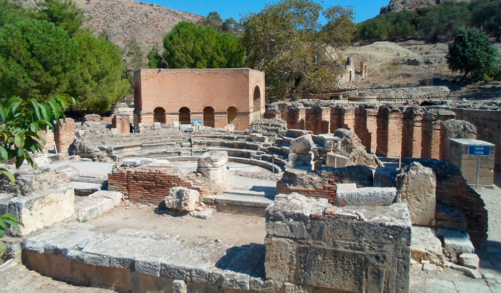 Древний город Гортина