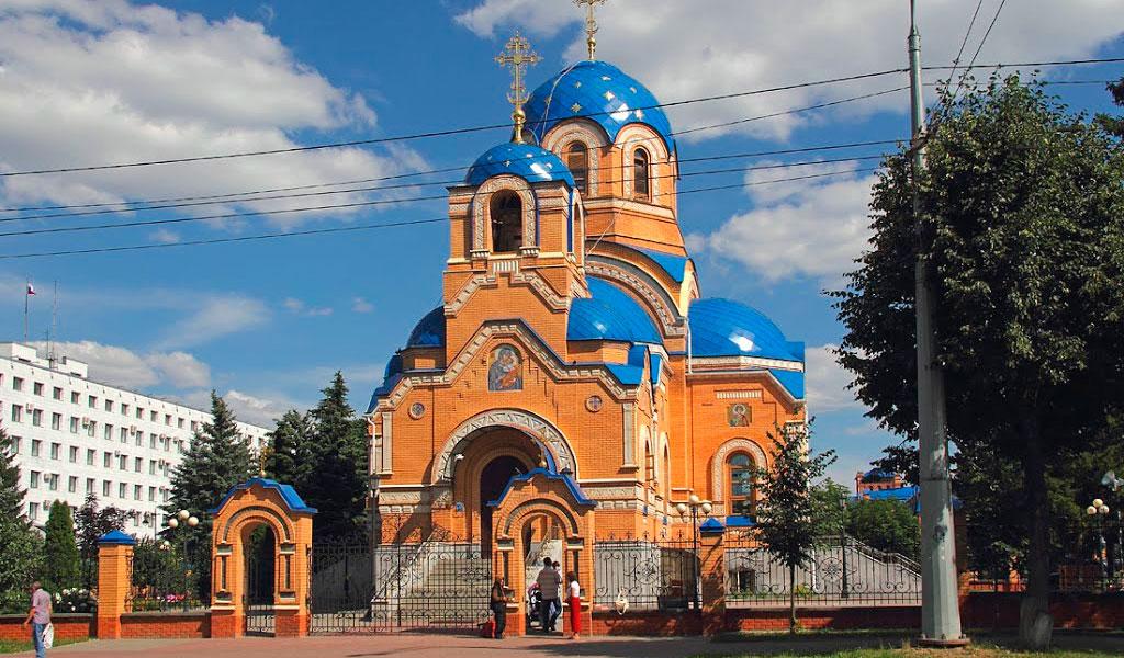 Успенская улица и Храм Успения Пресвятой Богородицы