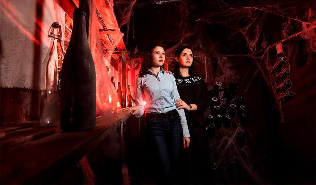 Квест в тоннелях Голицына