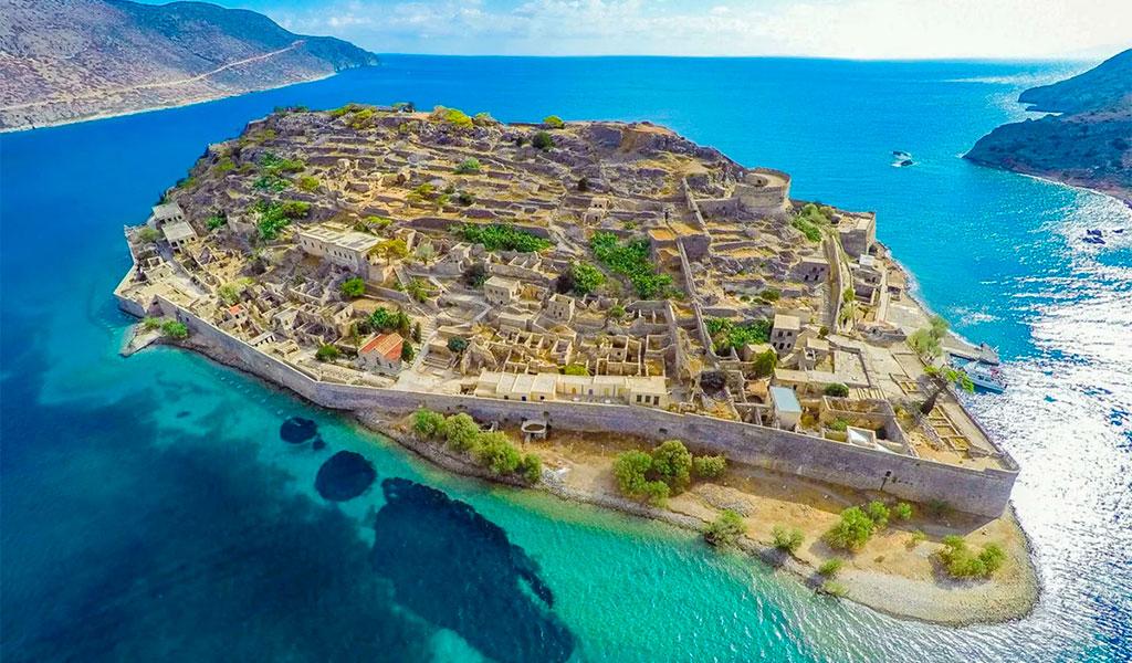 Остров – крепость Спиналонга