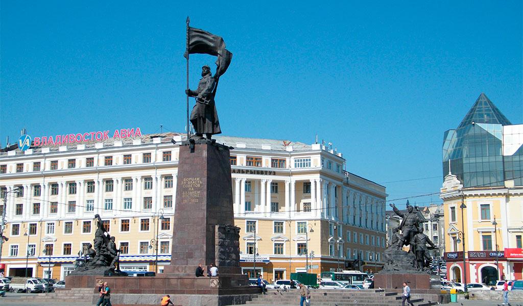 Памятник «Борцам за власть Советов на Дальнем Востоке»