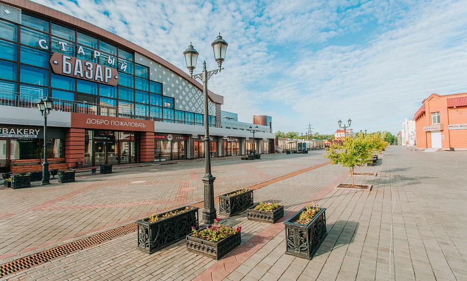 Пешеходная улица Мало-Тобольская