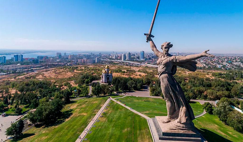 "Курган Мамаев, скульптура""Родина-мать зовёт!"""