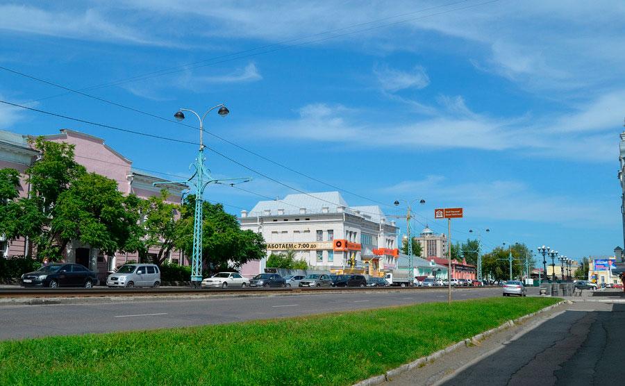 Улица им. И. И. Ползунова