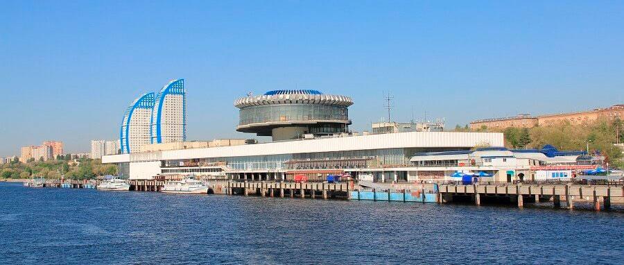Волгоградский речной порт и вокзал