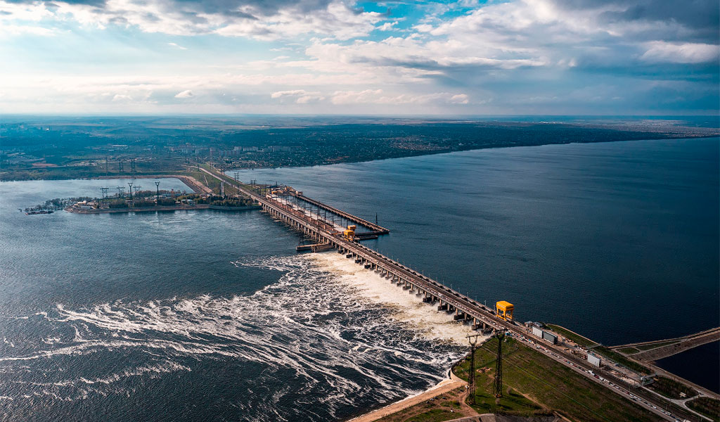 Волжская ГЭС